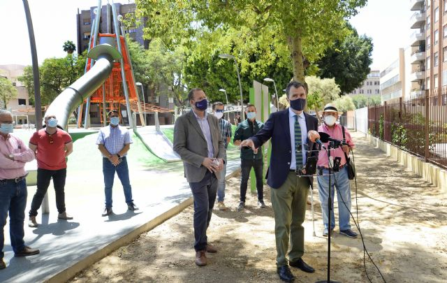 El Jardín de la Fama estrena dos zonas infantiles de 1.000 m2 que dan continuidad al eje peatonal de Alfonso X El Sabio - 3, Foto 3