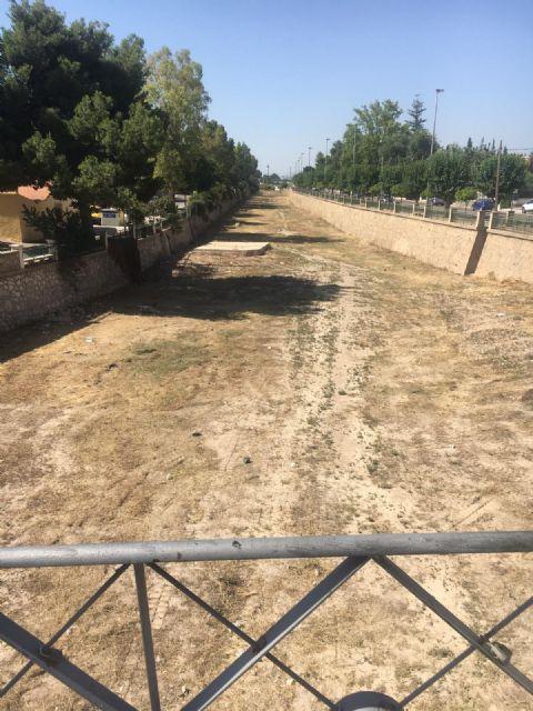 Concluyen los trabajos de desbroce del tramo urbano del río Guadalentín realizados durante las últimas semanas - 1, Foto 1