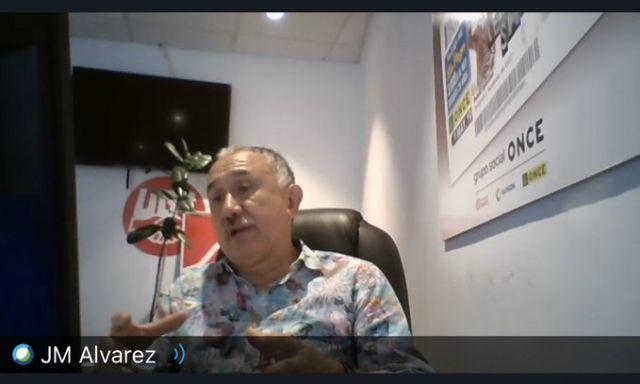 Pepe Álvarez clausuró el ciclo de Videoconferencias del Covid-19 organizadas por el PSOE de Cartagena - 3, Foto 3