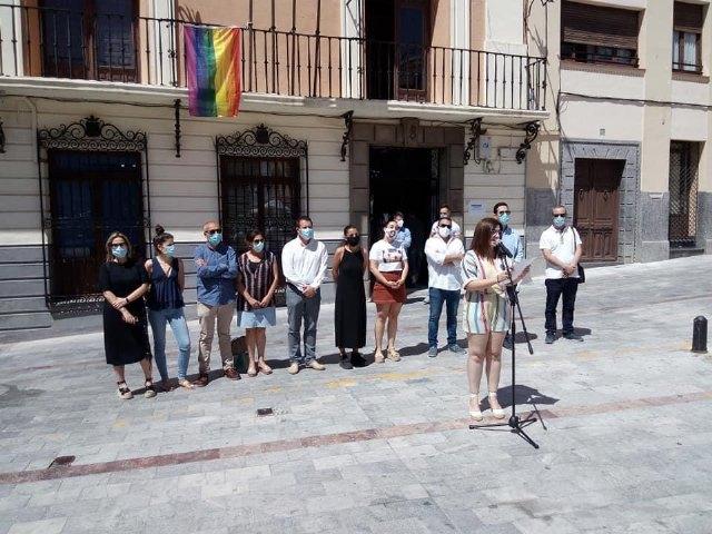 Lectura manifiesto Día del Orgullo - Mula 2020 - 2, Foto 2