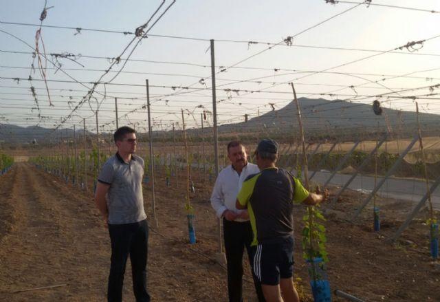 El alcalde y el concejal de Obras e Infraestructuras visitan El Raiguero - 1, Foto 1