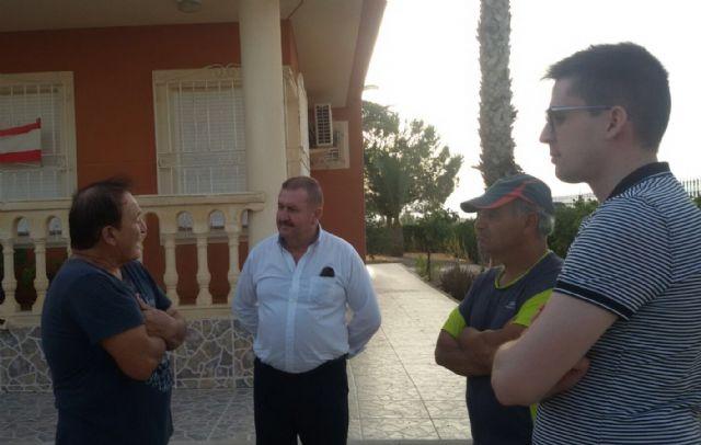 El alcalde y el concejal de Obras e Infraestructuras visitan El Raiguero - 2, Foto 2