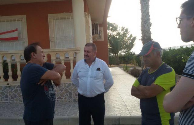 El alcalde y el concejal de Obras e Infraestructuras visitan El Raiguero - 3, Foto 3