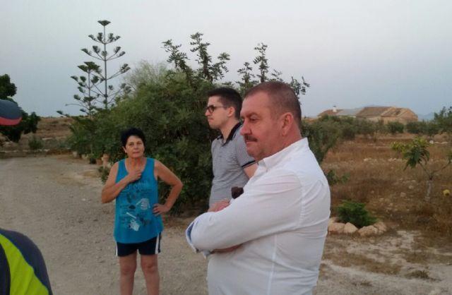 El alcalde y el concejal de Obras e Infraestructuras visitan El Raiguero - 5, Foto 5