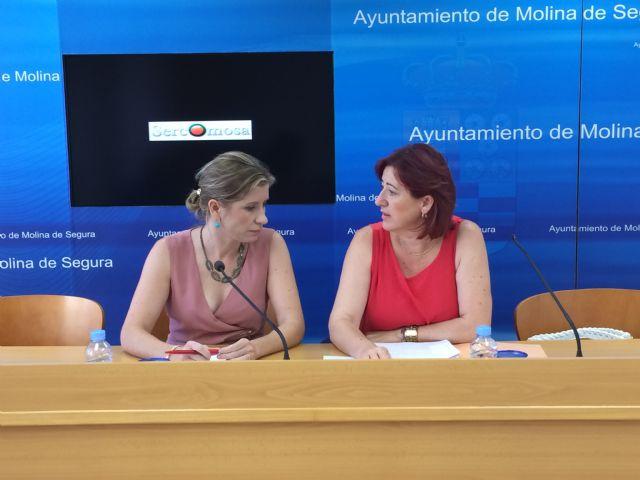 Ayuntamiento de Molina de Segura y SERCOMOSA llevan a cabo este verano una campaña extraordinaria de limpieza viaria - 2, Foto 2