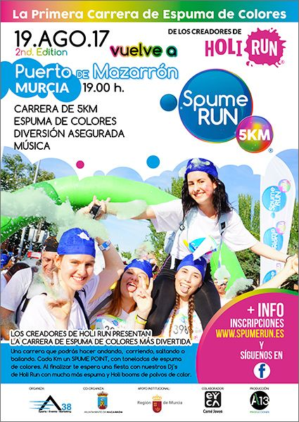 Vuelve la fiesta de la Spume Run a Puerto de Mazarrón - 2, Foto 2