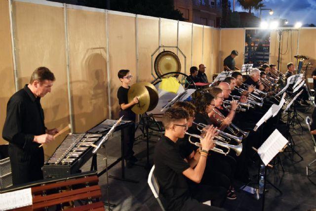 La Banda de Música de Mazarrón cosecha un gran éxito en los V veranos musicales - 1, Foto 1