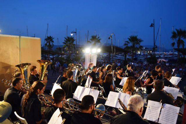 La Banda de Música de Mazarrón cosecha un gran éxito en los V veranos musicales - 2, Foto 2