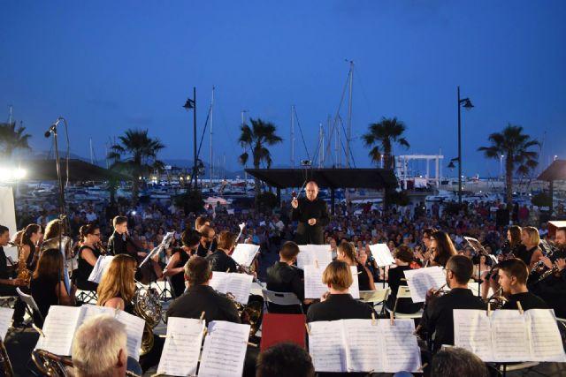 La Banda de Música de Mazarrón cosecha un gran éxito en los V veranos musicales - 3, Foto 3