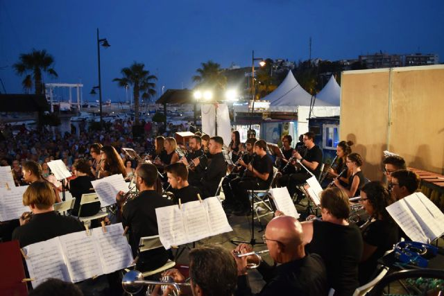 La Banda de Música de Mazarrón cosecha un gran éxito en los V veranos musicales - 4, Foto 4