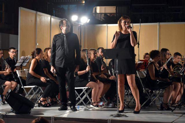 La Banda de Música de Mazarrón cosecha un gran éxito en los V veranos musicales - 5, Foto 5
