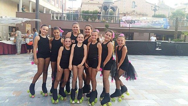 Exhibición de patinaje artístico - Club Patín Totana - Fiestas de Santiago 2017 - 1, Foto 1