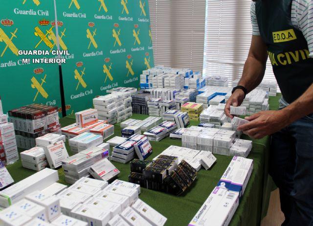 La Guardia Civil desarticula un punto de distribución de sustancias anabolizantes y dopantes a consumidores finales de toda España - 2, Foto 2