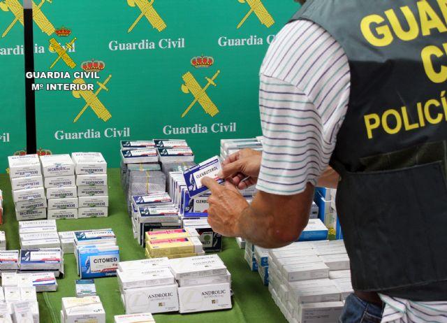 La Guardia Civil desarticula un punto de distribución de sustancias anabolizantes y dopantes a consumidores finales de toda España - 3, Foto 3