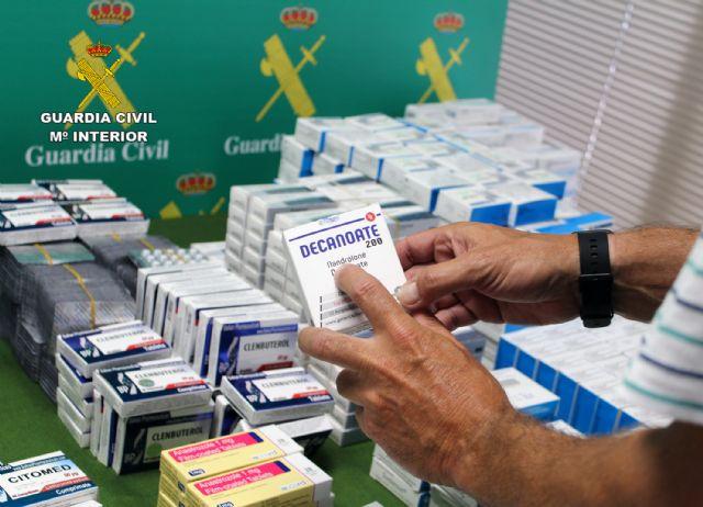 La Guardia Civil desarticula un punto de distribución de sustancias anabolizantes y dopantes a consumidores finales de toda España - 4, Foto 4