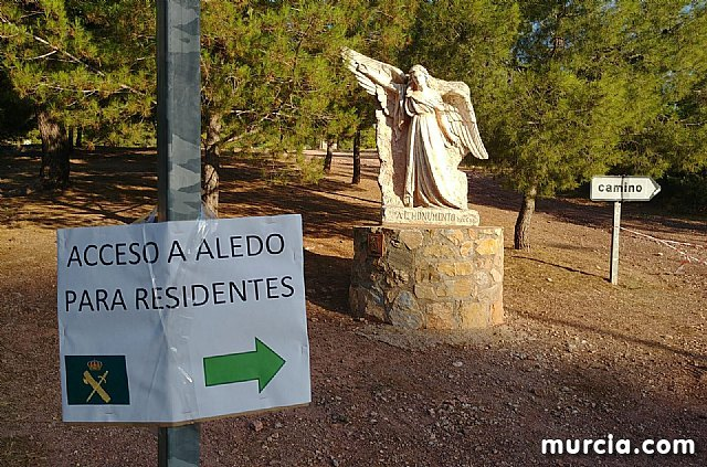 Los vecinos de Aledo pueden acceder a Totana y la autovía A7 por el desvío del Jumero hasta el Ángel - 1, Foto 1