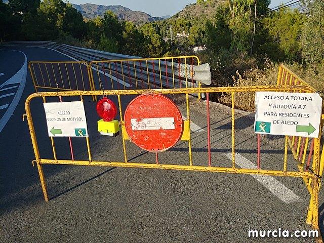 Los vecinos de Aledo pueden acceder a Totana y la autovía A7 por el desvío del Jumero hasta el Ángel - 4, Foto 4