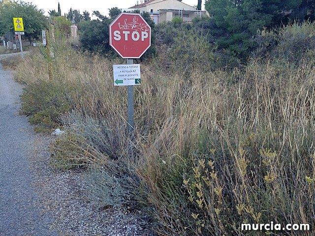 Los vecinos de Aledo pueden acceder a Totana y la autovía A7 por el desvío del Jumero hasta el Ángel - 5, Foto 5