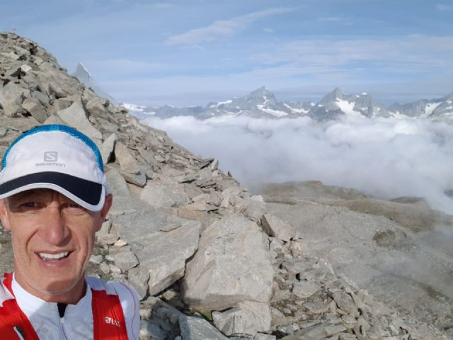 "Members of the Totana Athletics Club were present at the Matterhorn Ultraks Sky Race ""and"" XXXIV Carrera de Mojácar """