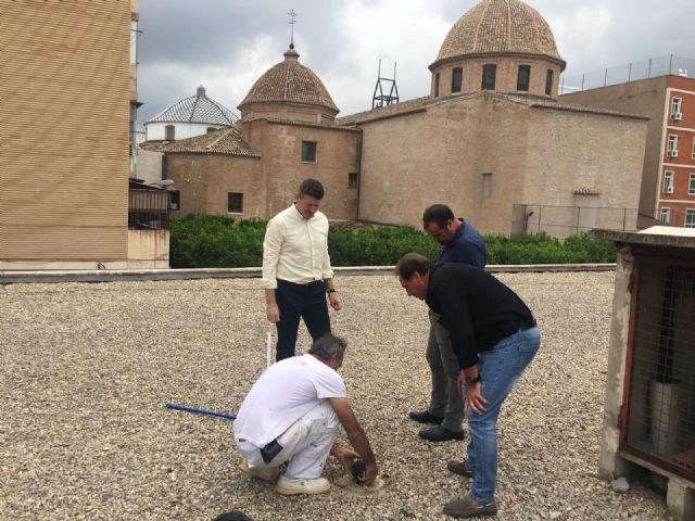 La Concejalía de Comercio está efectuando labores de limpieza y adecuación de las Plazas de Abastos de Saavedra Fajardo, Vistabella, San Andrés, La Alberca, Cabezo de Torres y Espinardo - 1, Foto 1