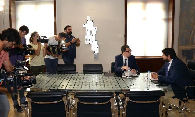 Ballesta reivindica mayor financiación para Murcia, una capital joven y en continua expansión de la España que se llena - 2, Foto 2