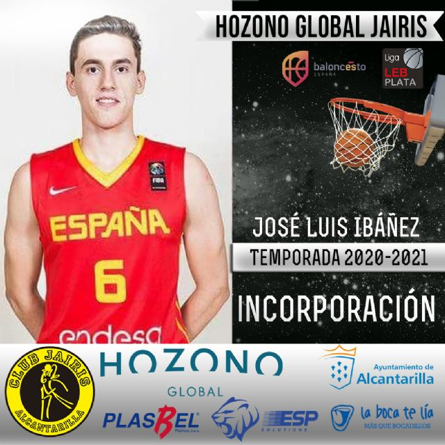 El joven José Luis Ibáñez jugará la próxima temporada en el Hozono Global Jairis - 1, Foto 1