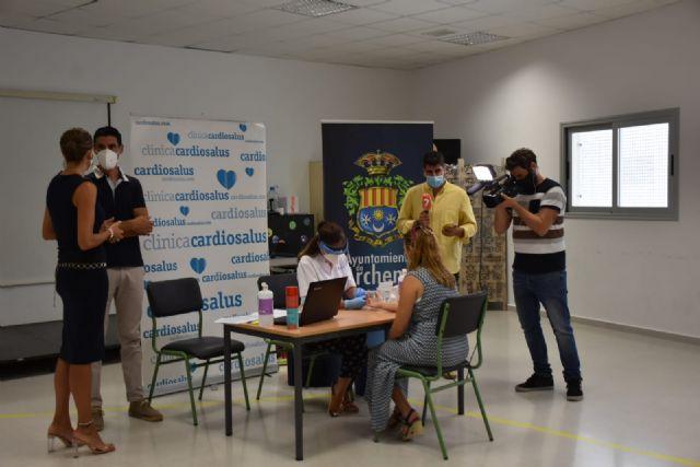Comienzan los test de detección de COVID19 a docentes incluidos en la campaña 'Archena Cole Seguro' - 1, Foto 1
