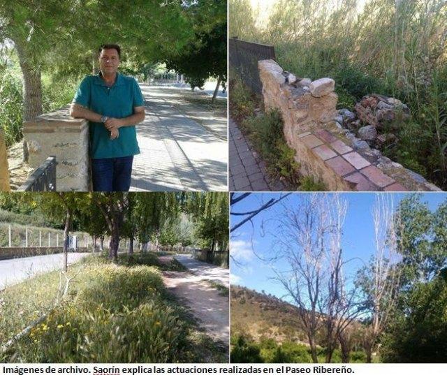Saorín acusa al concejal de Cs, Óscar Verdejo, de volver a mentir, ahora con motivo del Paseo Ribereño - 1, Foto 1