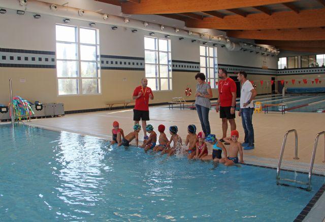 El Centro Deportivo de Puerto Lumbreras incrementa en más del 50% el número de usuarios en los cursos de natación infantil - 1, Foto 1