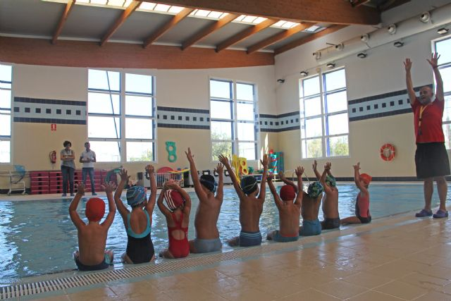 El Centro Deportivo de Puerto Lumbreras incrementa en más del 50% el número de usuarios en los cursos de natación infantil - 2, Foto 2