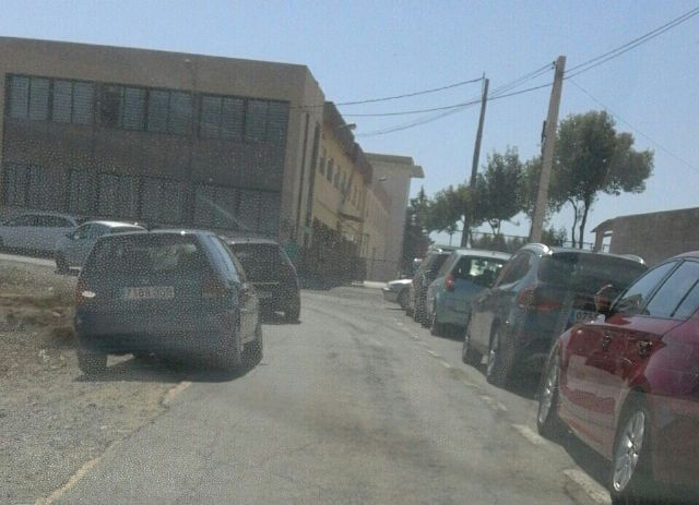 The PP will ask the full traffic is regulated by police presence during and out of school children Guadalentín Paretón