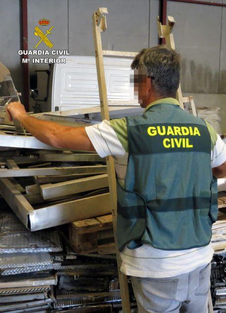 La Guardia Civil desmantela un grupo delictivo dedicado a la sustracción de maquinaria agrícola de Cartagena - 1, Foto 1