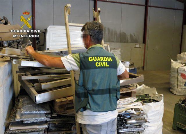 La Guardia Civil desmantela un grupo delictivo dedicado a la sustracción de maquinaria agrícola de Cartagena - 2, Foto 2