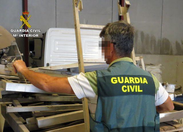 La Guardia Civil desmantela un grupo delictivo dedicado a la sustracción de maquinaria agrícola de Cartagena - 3, Foto 3