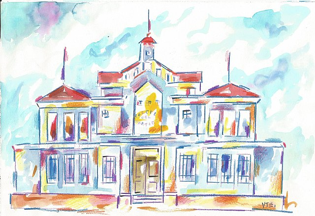 De ermita de los Santos Médicos a cárcel del Partido Judicial, Foto 1