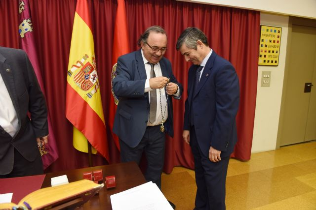 Pascual Lucas releva a Francisco Esquembre en el decanato de Matemáticas de la UMU - 4, Foto 4