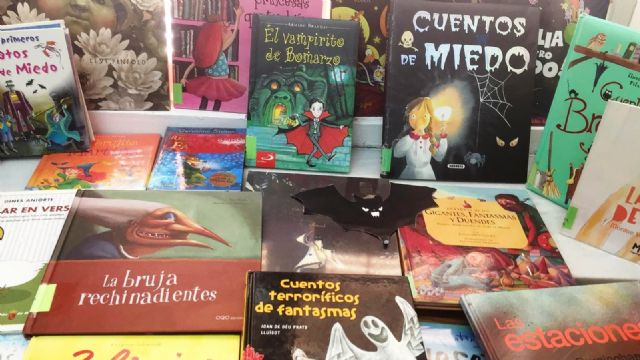 "The Municipal Library ""Mateo García"" is preparing for the Halloween 2018"