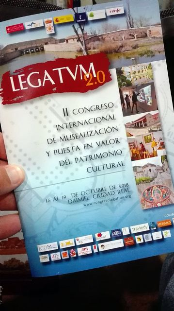 "The archaeological site of ""Las Cabezuelas"", present in the II International Congress ""LEGATVM 2.0"" - 3"