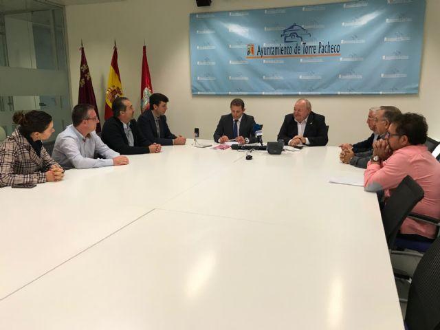 El Alcalde recibe a la nueva Junta Directiva de COEC Torre Pacheco - 1, Foto 1