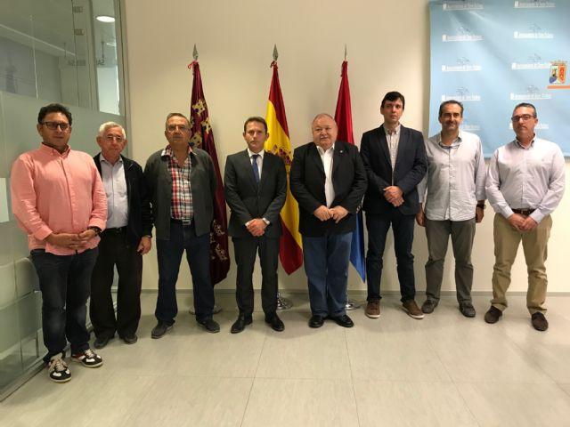 El Alcalde recibe a la nueva Junta Directiva de COEC Torre Pacheco - 2, Foto 2