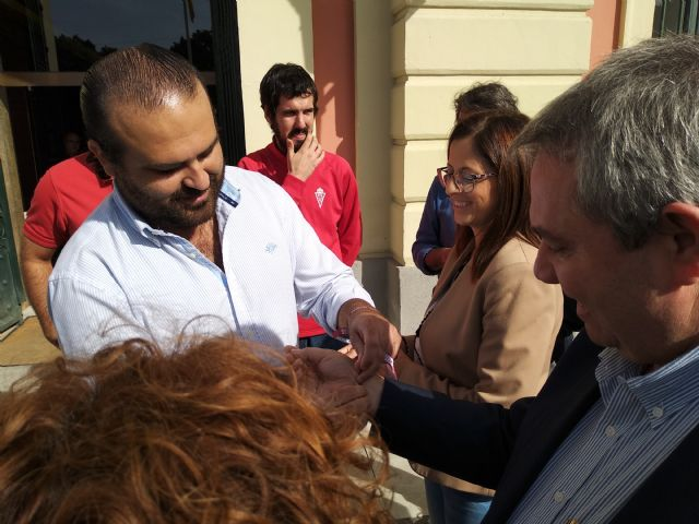 El PSOE remarca que al equipo y a la afición del Real Murcia no se les puede abandonar y reclama más implicación de las instituciones - 2, Foto 2