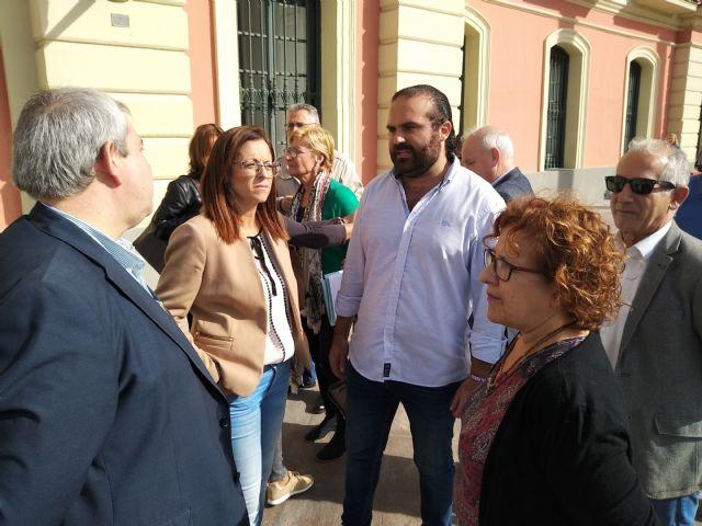 El PSOE remarca que al equipo y a la afición del Real Murcia no se les puede abandonar y reclama más implicación de las instituciones - 4, Foto 4