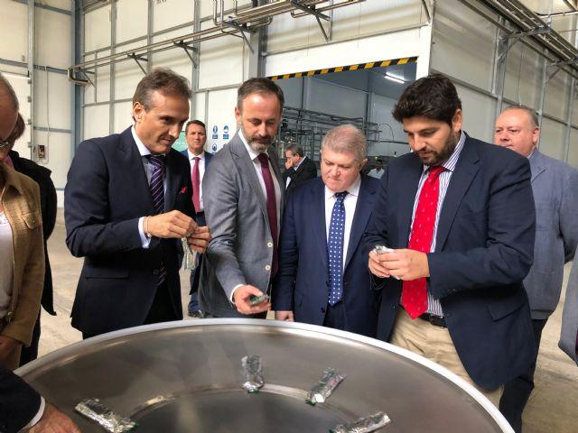 López Miras: En cinco años hemos destinado más de 10 millones a apoyar 320 proyectos de la industria agroalimentaria - 1, Foto 1
