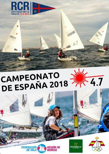 Santiago de la Ribera acoge el Campeonato de España Laser 4.7 del 31 de octubre al 4 de noviembre - 1, Foto 1