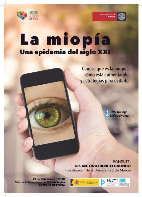 ´La miopía, una epidemia del siglo XXI´ inaugura el nuevo ciclo de conferencias científicas - 1, Foto 1