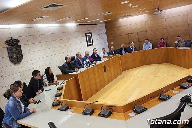 El Ayuntamiento de Totana realiza una recepci�n institucional a la delegaci�n de la ciudad hermana de M�rida, Foto 3
