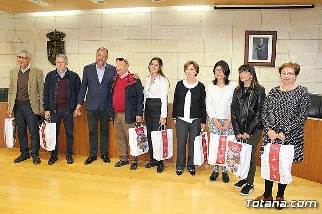 El Ayuntamiento de Totana realiza una recepci�n institucional a la delegaci�n de la ciudad hermana de M�rida, Foto 5