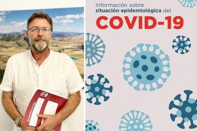 Saorín: Hay que reducir el contacto social ante el elevado número de contagios por coronavirus - 1, Foto 1