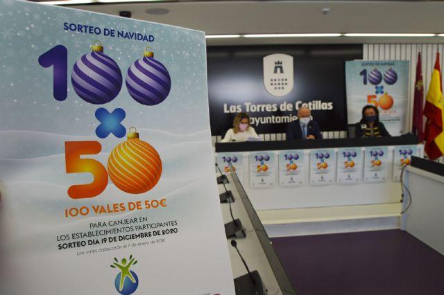 5.000 euros en premios en las compras navideñas de Las Torres de Cotillas - 1, Foto 1