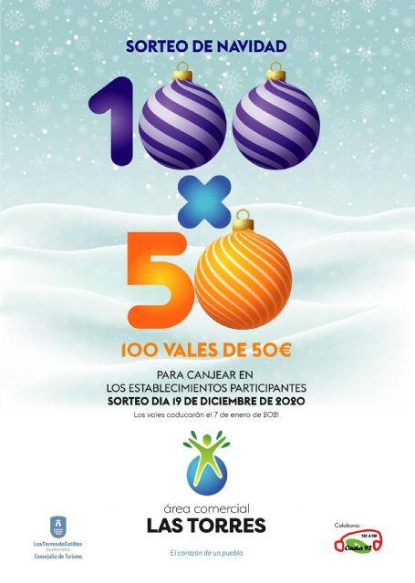 5.000 euros en premios en las compras navideñas de Las Torres de Cotillas - 4, Foto 4